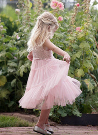 Lauren Dress - Blush