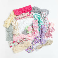 5 or 10 Headbands GRAB a BAG Soft Cotton Jersey Headbands