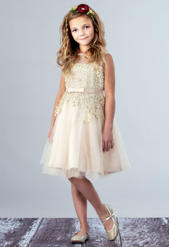Skye Flower Girl Dress