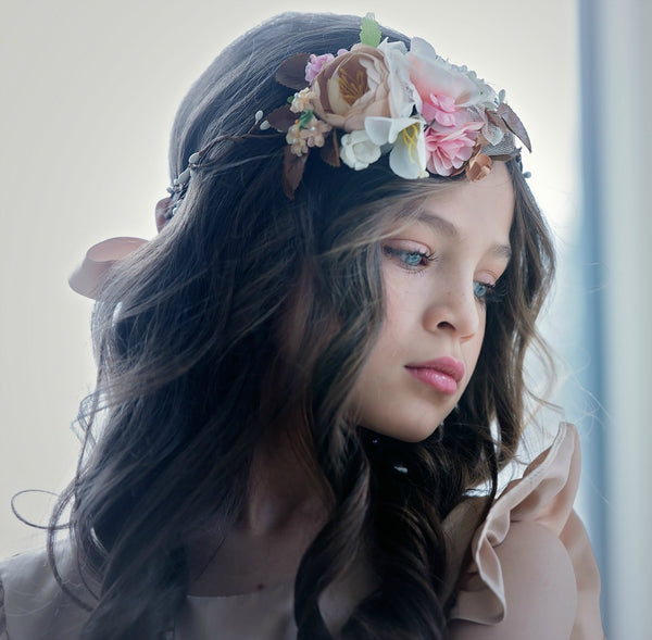 Laiya Flower Girl Crown