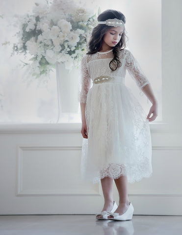 Versailles Flower Girl Dress