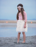Sweet and Sassy Tiered Tulle Skirt - 3 colors available - Think Pink Bows - 2