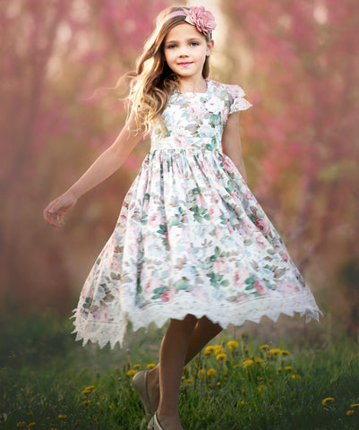 Alessia  English Garden Dress
