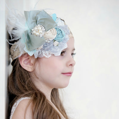 Rylie Flower Lace Headband