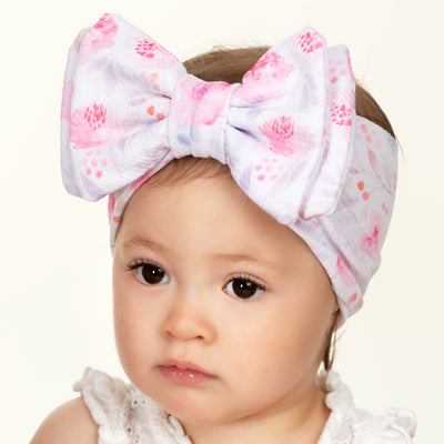 Lolita Big BOW Printed  Headwraps L6