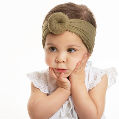 Turban Nylon Headwraps OLIVE 54