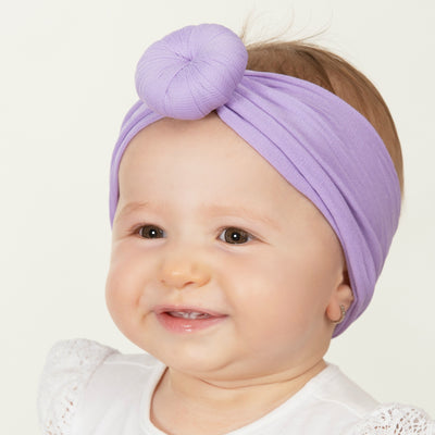 Turban Nylon Headwraps LILAC 48