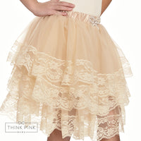 Dream of Me Tulle Skirt - Champagne - 2 colors available