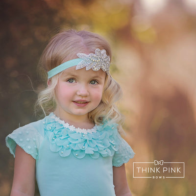 Perfection Silver Leaf Headband
