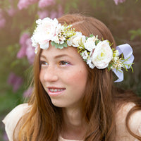 Adeline Flower Girl Crown