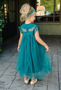 Adrianna Dress - Hunter Green