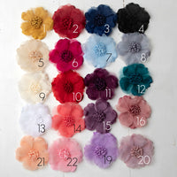 Analeah Flower Clippie  20 Colors