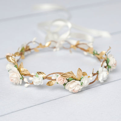 Analisse Flower Girl Crown