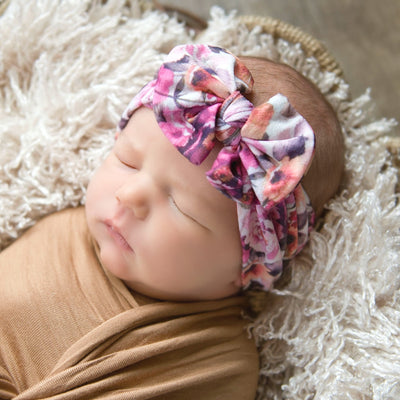 Knot Nylon Headwraps Prints - H20