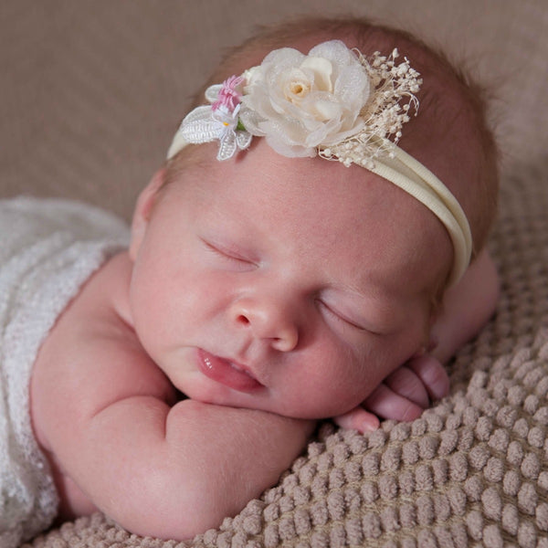 Leona Single Flower Headband 6