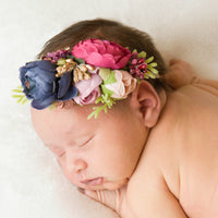 Style 42 Pocket Full of Posies Nylon Headband