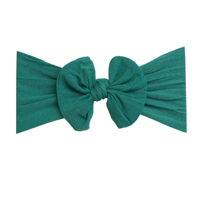 Knot Nylon Headwraps Forest Green 32
