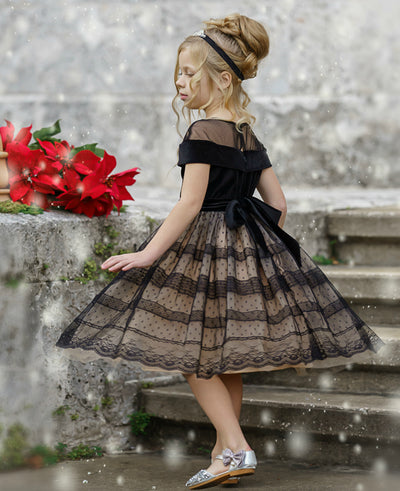 Jacqueline Flower Girl Dress