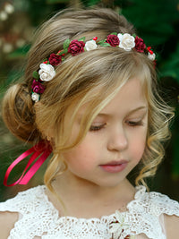 Ainhoa Flower Girl Crown