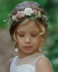 Analeah Flower Girl Crown