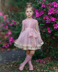 Luna Flower Girl Dress
