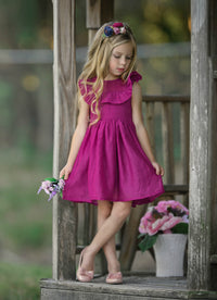 Kendall Dress - Raspberry