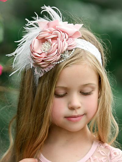 Color Me Pink Couture Headband