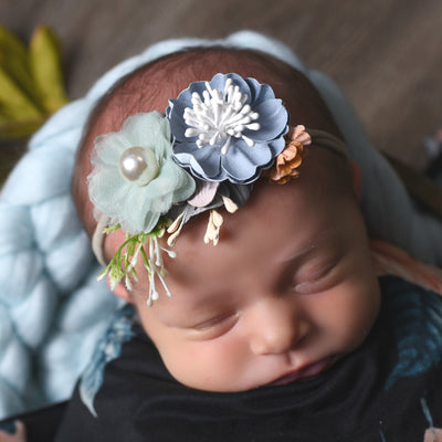 Style 28 Pocket Full of Posies Nylon Headband