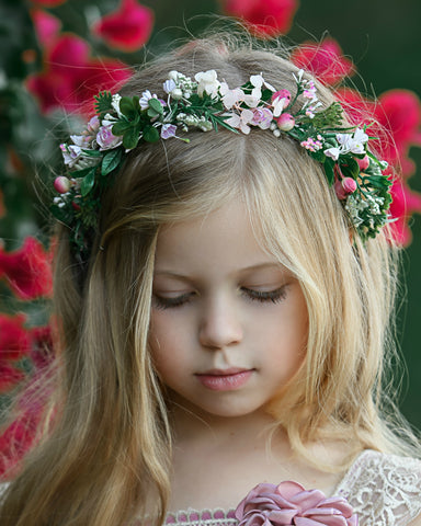 Irina Flower Girl Crown