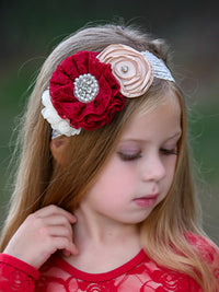 Anna Flower Girl Headband