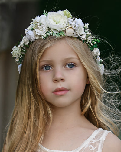 Finley Flower Girl Crown