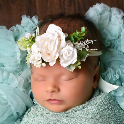 Style 70 Pocket Full of Posies Nylon Headband