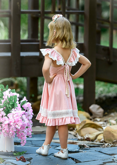 Matilda Dress -Rose Pink