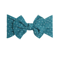 ELLE Polka Dot Headwrap Forest Green 32
