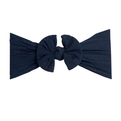 Knot Nylon Headwraps Navy 25
