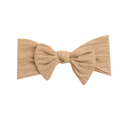 Knot Nylon Headwraps Hazelnut 12