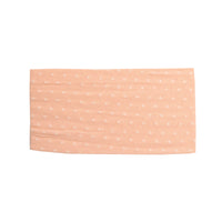 ELLE Polka Dot Headwrap Peach 6