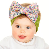 ALEXA DOUBLE BOW on NYLON  Headwraps - LL19