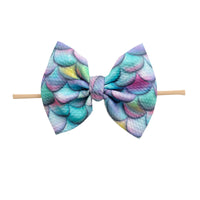 Lulu Bow Nylon Headband Prints 10