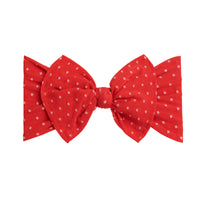 ELLE Polka Dot Headwrap  Red 24