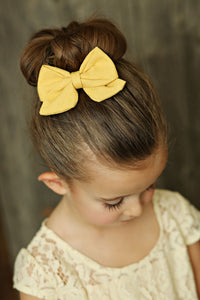Vivian Style Boutique Bow Clippie - 11 colors available