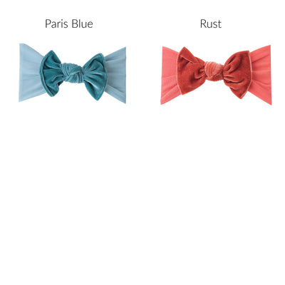 KATE Bow Velvet NYLON Headwraps 19 COLORS