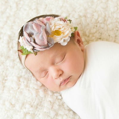 Style 39 Pocket Full of Posies Nylon Headband