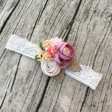 Grace Couture Flower Lace Headband