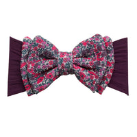 ALEXA DOUBLE BOW on NYLON  Headwraps - LL8