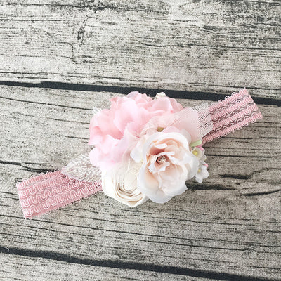 Genevieve Couture Flower Lace Headband