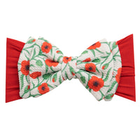 ALEXA DOUBLE BOW on NYLON  Headwraps - LL20