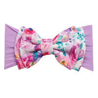 ALEXA DOUBLE BOW on NYLON  Headwraps - LL18