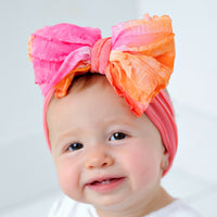 Big Ruffle Bow Headwrap 17 Colors