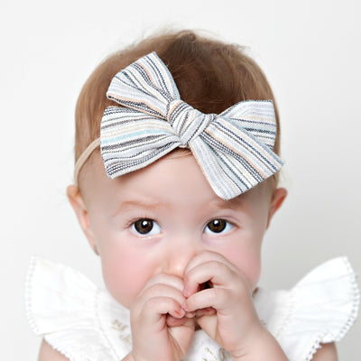 Kylie Large Hair Bow Headband - 4 Colors